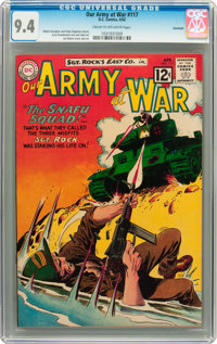 Our Army at War #117 Savannah pedigree (DC, 1962) CGC NM 9.4 Cream to off-white pages
