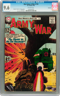 Our Army at War #118 Savannah pedigree (DC, 1962) CGC NM+ 9.6 Off-white pages