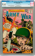 Silver Age (1956-1969):War, Our Army at War #119 Savannah pedigree (DC, 1962) CGC NM 9.4 Off-white to white pages....