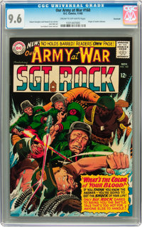 Our Army at War #160 Savannah pedigree (DC, 1965) CGC NM+ 9.6 Cream to off-white pages