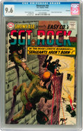 Silver Age (1956-1969):War, Showcase #45 Sgt. Rock - Savannah pedigree (DC, 1963) CGC NM+ 9.6 Off-white to white pages....