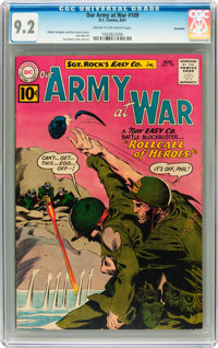 Our Army at War #109 Savannah pedigree (DC, 1961) CGC NM- 9.2 Cream to off-white pages