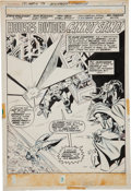 Original Comic Art:Splash Pages, John Buscema and Don Heck The Avengers #121 Splash Page 1Original Art (Marvel, 1974)....