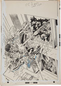 Original Comic Art:Covers, Gil Kane and Mike Esposito Power Man #20 Cover Original Art(Marvel, 1974)....