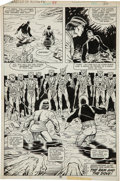 Original Comic Art:Panel Pages, Mike Zeck and Gene Day Master of Kung Fu #84 page 30 Original Art (Marvel, 1980)....