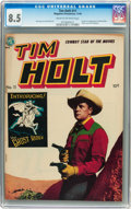 Golden Age (1938-1955):Western, Tim Holt #11 (Magazine Enterprises, 1949) CGC VF+ 8.5 Cream tooff-white pages....