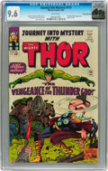 Silver Age (1956-1969):Superhero, Journey Into Mystery #115 Rocky Mountain pedigree (Marvel, 1965)CGC NM+ 9.6 White pages....