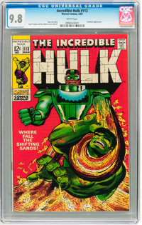 The Incredible Hulk #113 (Marvel, 1969) CGC NM/MT 9.8 White pages