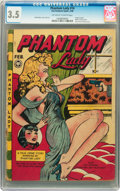 Golden Age (1938-1955):Crime, Phantom Lady #16 (Fox Features Syndicate, 1948) CGC VG- 3.5 Off-white to white pages....