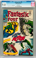 Silver Age (1956-1969):Superhero, Fantastic Four #71 (Marvel, 1968) CGC NM/MT 9.8 White pages....