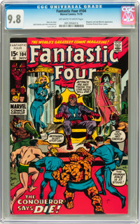 Fantastic Four #104 (Marvel, 1970) CGC NM/MT 9.8 Off-white to white pages
