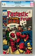 Silver Age (1956-1969):Superhero, Fantastic Four #91 (Marvel, 1969) CGC NM/MT 9.8 Off-white to white pages....