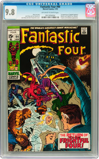 Fantastic Four #94 (Marvel, 1970) CGC NM/MT 9.8 Off-white to white pages