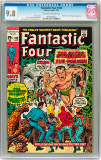 Fantastic Four #102 (Marvel, 1970) CGC NM/MT 9.8 Off-white to white pages
