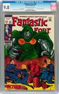 Silver Age (1956-1969):Superhero, Fantastic Four #86 (Marvel, 1969) CGC NM/MT 9.8 Off-white to white pages....