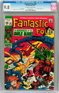 Silver Age (1956-1969):Superhero, Fantastic Four #89 (Marvel, 1969) CGC NM/MT 9.8 Off-white to white pages....