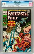 Bronze Age (1970-1979):Superhero, Fantastic Four #114 (Marvel, 1971) CGC NM/MT 9.8 Off-white to whitepages....