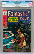 Silver Age (1956-1969):Superhero, Fantastic Four #90 (Marvel, 1969) CGC NM+ 9.6 Off-white to white pages....