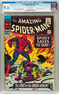 Silver Age (1956-1969):Superhero, The Amazing Spider-Man #40 (Marvel, 1966) CGC NM+ 9.6 Whitepages....