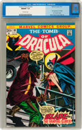 Bronze Age (1970-1979):Horror, Tomb of Dracula #10 (Marvel, 1973) CGC NM/MT 9.8 Off-whitepages....