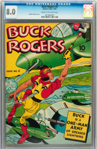 Buck Rogers #4 (Eastern Color, 1942) CGC VF 8.0 Cream to off-white pages