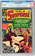 Silver Age (1956-1969):Superhero, Tales of Suspense #52 (Marvel, 1964) CGC NM 9.4 Cream to off-whitepages....