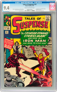Tales of Suspense #52 (Marvel, 1964) CGC NM 9.4 Cream to off-white pages