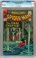 Silver Age (1956-1969):Superhero, The Amazing Spider-Man #33 (Marvel, 1966) CGC NM/MT 9.8 Off-whiteto white pages....