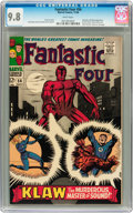 Silver Age (1956-1969):Superhero, Fantastic Four #56 (Marvel, 1966) CGC NM/MT 9.8 White pages....