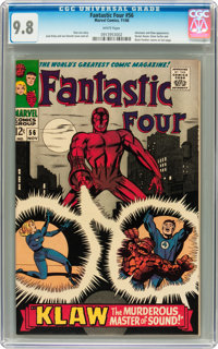 Fantastic Four #56 (Marvel, 1966) CGC NM/MT 9.8 White pages