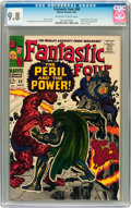 Silver Age (1956-1969):Superhero, Fantastic Four #60 (Marvel, 1967) CGC NM/MT 9.8 Off-white to white pages....
