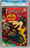 Silver Age (1956-1969):Superhero, Fantastic Four #62 (Marvel, 1967) CGC NM/MT 9.8 White pages....