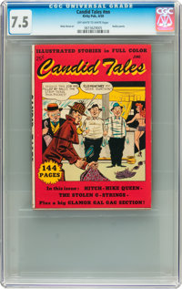 Candid Tales #nn (Kirby Publishing, 1950) CGC VF- 7.5 Off-white to white pages