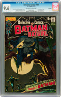 Bronze Age (1970-1979):Superhero, Detective Comics #405 Savannah pedigree (DC, 1970) CGC NM+ 9.6Off-white to white pages....