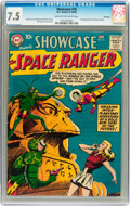 Silver Age (1956-1969):Science Fiction, Showcase #16 Space Ranger - Savannah pedigree (DC, 1958) CGC VF-7.5 Cream to off-white pages....