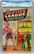 Silver Age (1956-1969):Superhero, Justice League of America #11 Savannah pedigree (DC, 1962) CGC NM9.4 Off-white to white pages....