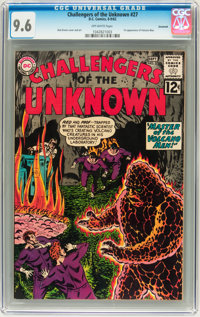 Challengers of the Unknown #27 Savannah pedigree (DC, 1962) CGC NM+ 9.6 Off-white pages