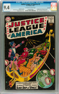 Silver Age (1956-1969):Superhero, Justice League of America #3 Savannah pedigree (DC, 1961) CGC NM9.4 Off-white to white pages....