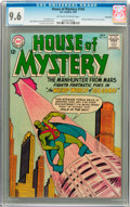 Silver Age (1956-1969):Science Fiction, House of Mystery #144 Savannah pedigree (DC, 1964) CGC NM+ 9.6 Off-white to white pages....