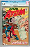 Silver Age (1956-1969):Superhero, Showcase #36 The Atom - Savannah pedigree (DC, 1962) CGC NM 9.4Off-white pages....