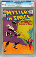 Silver Age (1956-1969):Science Fiction, Mystery in Space #73 Savannah pedigree (DC, 1962) CGC NM 9.4Off-white to white pages....