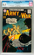 Silver Age (1956-1969):War, Our Army at War #126 Savannah pedigree (DC, 1963) CGC VF+ 8.5 Cream to off-white pages....