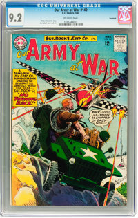 Our Army at War #140 Savannah pedigree (DC, 1964) CGC NM- 9.2 Off-white pages
