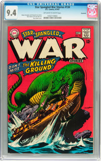 Star Spangled War Stories #134 Savannah pedigree (DC, 1967) CGC NM 9.4 Off-white to white pages
