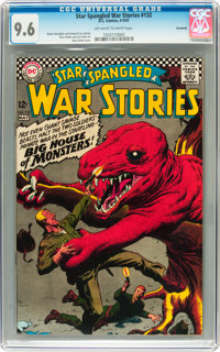 Star Spangled War Stories #132 Savannah pedigree (DC, 1967) CGC NM+ 9.6 Off-white to white pages