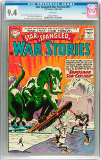 Star Spangled War Stories #112 Savannah pedigree (DC, 1964) CGC NM 9.4 White pages