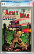 Silver Age (1956-1969):War, Our Army at War #123 Savannah pedigree (DC, 1962) CGC NM 9.4 Cream to off-white pages....