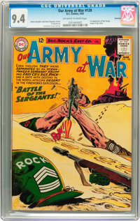 Our Army at War #128 Savannah pedigree (DC, 1963) CGC NM 9.4 Off-white to white pages