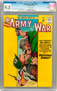 Our Army at War #135 Savannah pedigree (DC, 1963) CGC NM- 9.2 Off-white pages