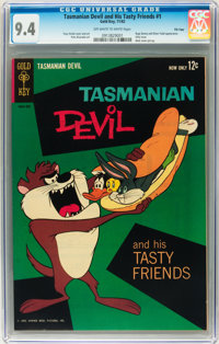 Tasmanian Devil and his Tasty Friends #1 File Copy (Gold Key, 1962) CGC NM 9.4 Off-white to white pages